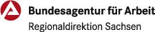 Logo Regionaldirektino Sachsen der Bundesagentur für Arbeit (BA)
