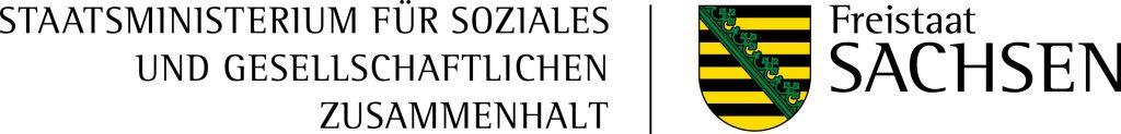 Logo Sächsisches Staatsministerium für Soziales und Gesellschaftlichen Zusammenhalt