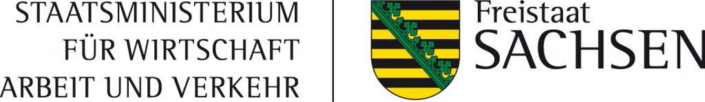 Logo Sächsisches Staatsministerium für Wirtschaft, Arbeit und Verkehr